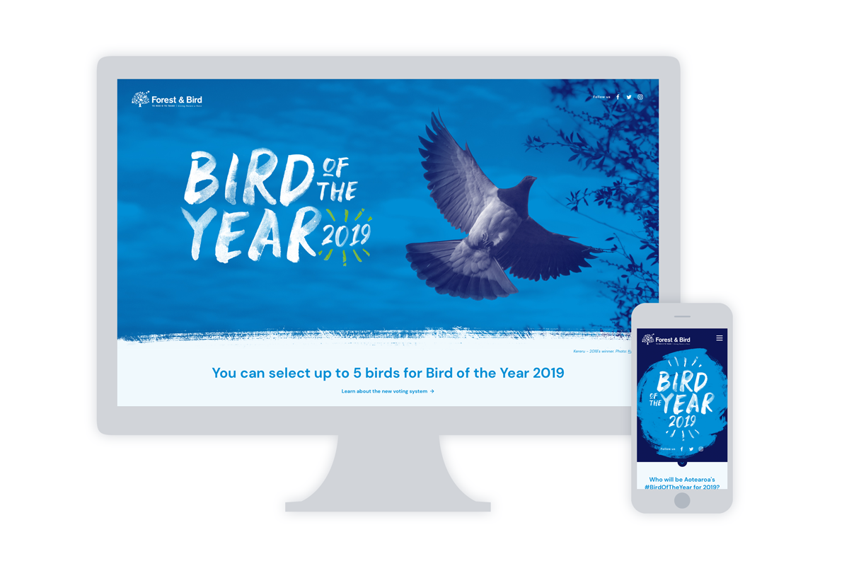 Bird of the Year website